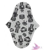 Cloth pad Emilla Iris - Marvin the Paranoid Android - size 17x4,5cm